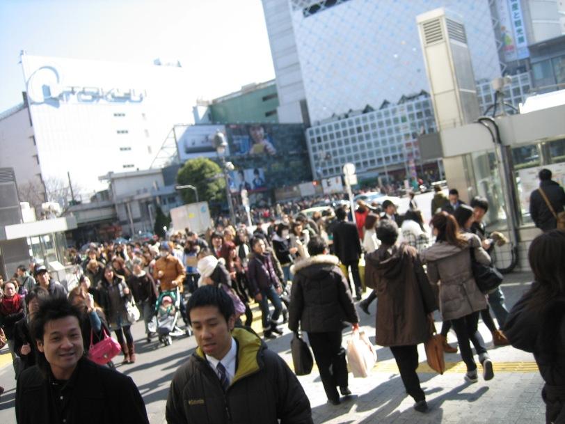 Shibuya-CrossRoad ~ 8